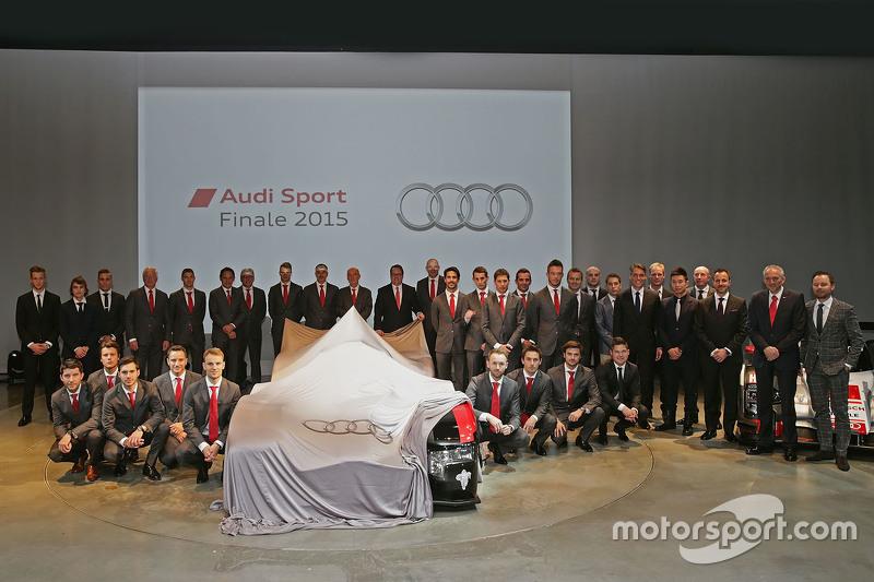 Die Fahrer von Audi Sport