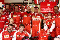 Кими Райкконен, Ferrari на командном фото