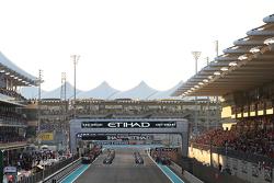 Nico Rosberg, Mercedes AMG F1 W06 nel giro di installazione