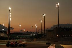 Max Verstappen, Scuderia Toro Rosso STR10 leads Carlos Sainz Jr., Scuderia Toro Rosso STR10