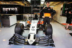 Alfonso Celis Jr., Sahara Force India F1, piloto de desarrollo