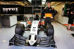 Alfonso Celis Jr., Pilote de développement Sahara Force India F1 Team