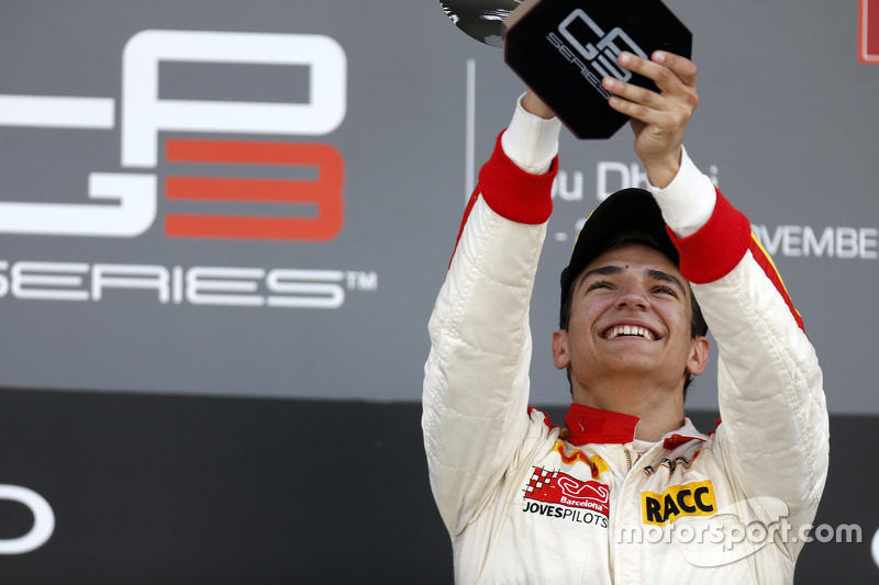 Race 2 Winner Alex Palou, Campos Racing