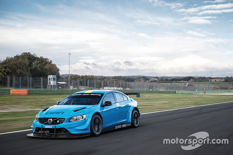 Volvo S60 Polestar TC1 testing