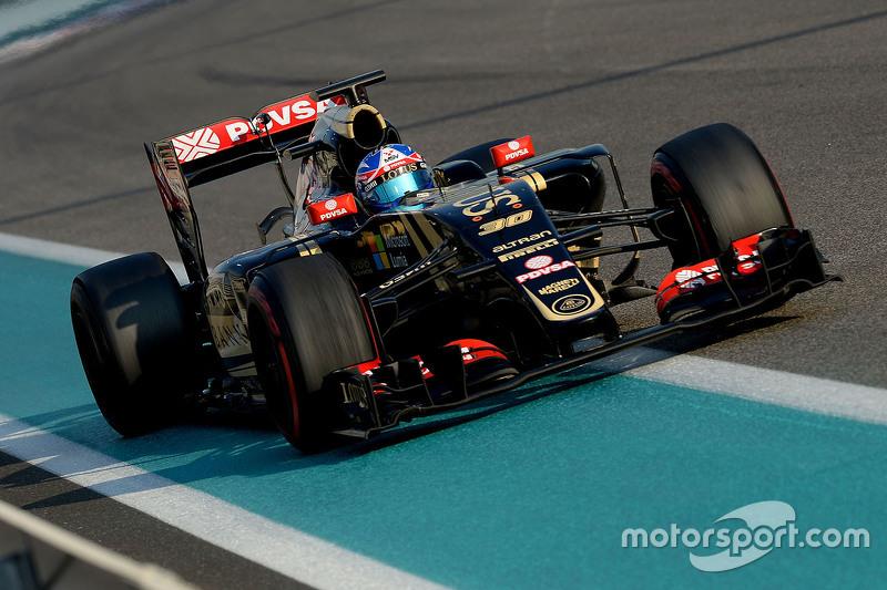 Jolyon Palmer, Lotus F1 E23, Test- und Ersatzfahrer