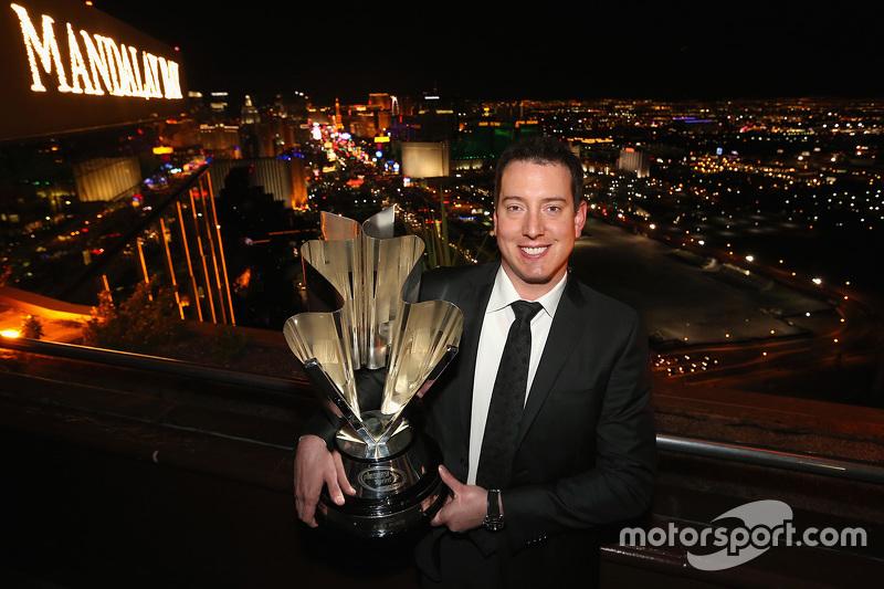 NASCAR-Champion 2015 Kyle Busch, Joe Gibbs Racing Toyota
