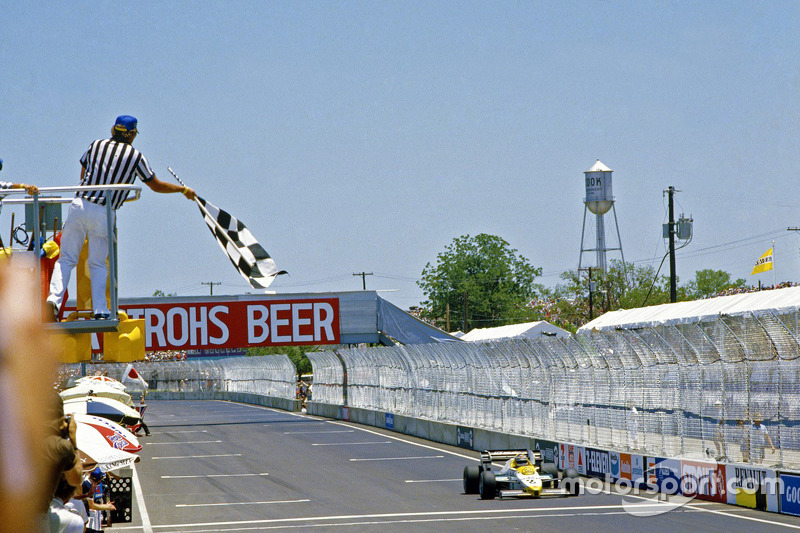 Keke Rosberg, Williams takes the win
