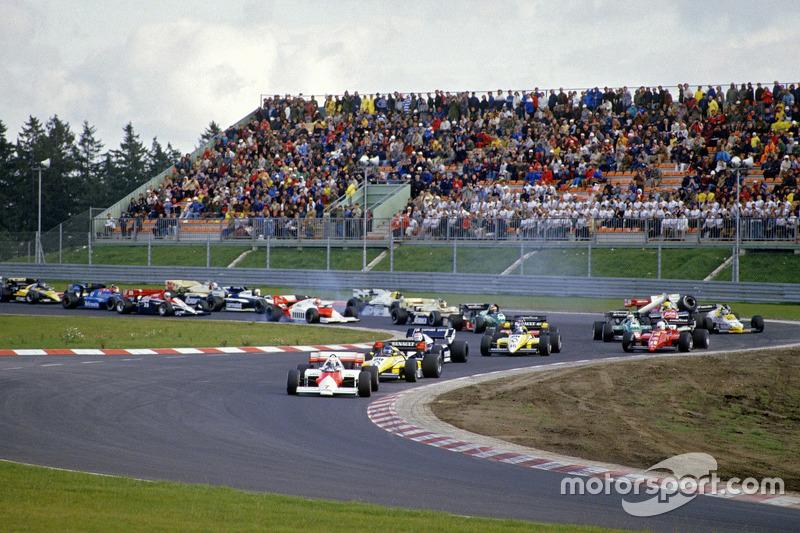 Keke Rosberg, Williams con problemas en la primera vuelta