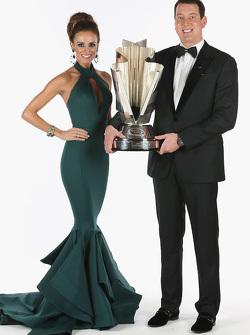 Samantha Busch and 2015 NASCAR Sprint Cup Champion Kyle Busch
