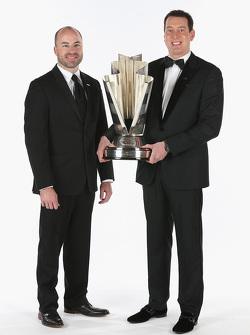Adam Stevens and 2015 NASCAR Sprint Cup Champion Kyle Busch
