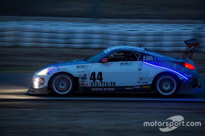 #44 Valkyrie Autosport, Nissan 350Z: Brian Lock, Giles Powell, Mark White, Mark Busalacchi, Annand Sharma