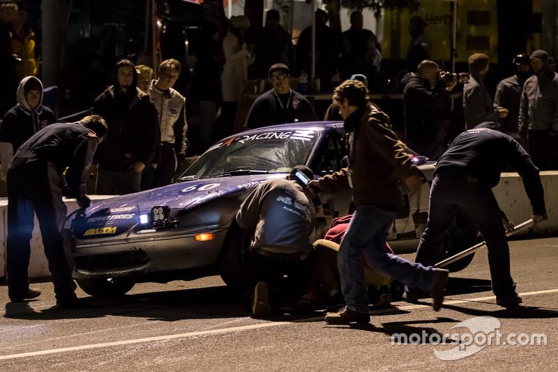 #60 A+ Racing Old Timers Mazda Miata: Dion Johnson, Richard Lucquet, David Gehringer, Doug Clark, Scott Morton