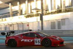 #55 AF Corse, Ferrari 458 Italia: Jack Gerber, Marco Cioci, Ilya Melnikov