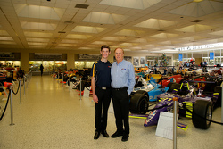 Matt Brabham mit Geoff Brabham