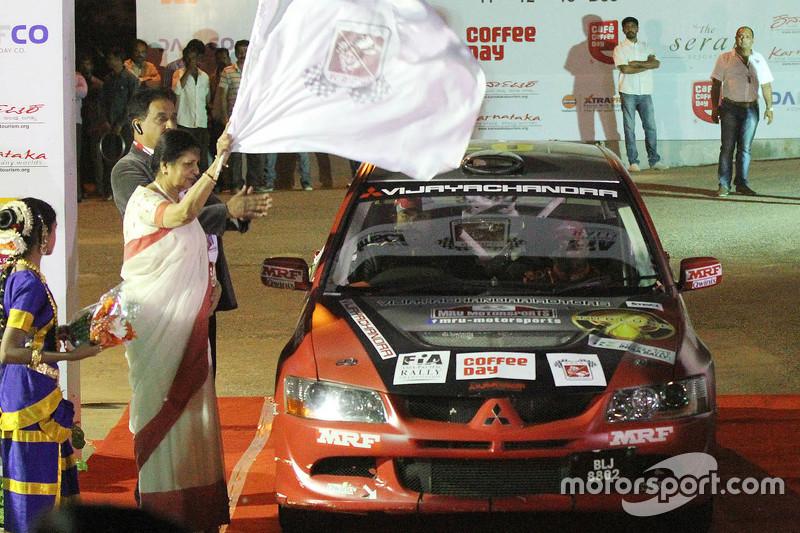 Lohitt Urs та Shrikant Gowda, Mitsubishi Lancer Evo VIII