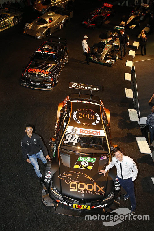 Паскаль Верляйн та Тото Вольф, Виконавчий директор Mercedes AMG F1 та акціонер