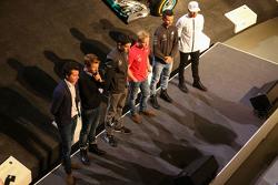 Эстебан Окон, Феликс Розенквист, Паскаль Верляйн, Льюис Хэмилтон, Mercedes AMG F1, Себастьян Аш, Лука Людвиг