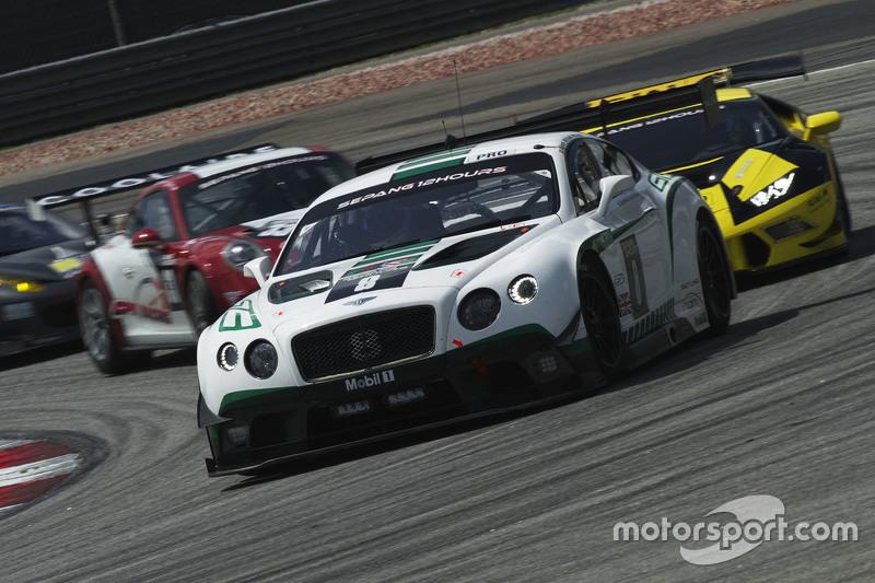 #8 Bentley Team M-Sport Bentley Continental GT3: Максиміліан Бук, Maxime Soulet, Andy Soucek