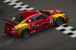 #86 Wing Hin Motorsports Toyota GT86: Kenny Lee Wan Yuen, Ho Wil Liam, Wong Yew Choong