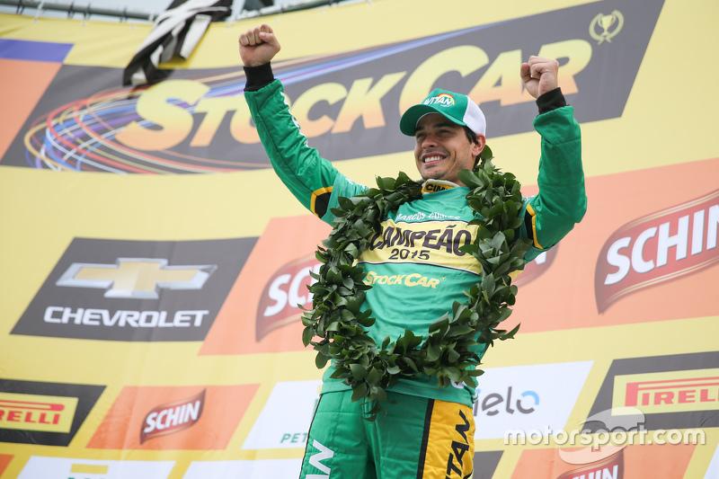 Маркос Гомес, 2015 Brazilian V8 Stock Car Champion