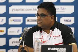 Дилбаг Жиль, руководитель команды Mahindra Racing