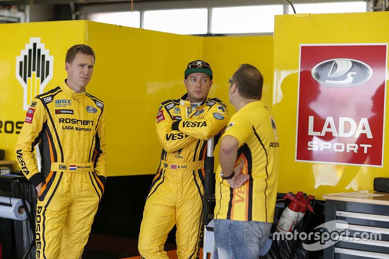 Нікі Катсбург, Lada Sport Rosneft та Роб Хафф, Lada Sport Rosneft