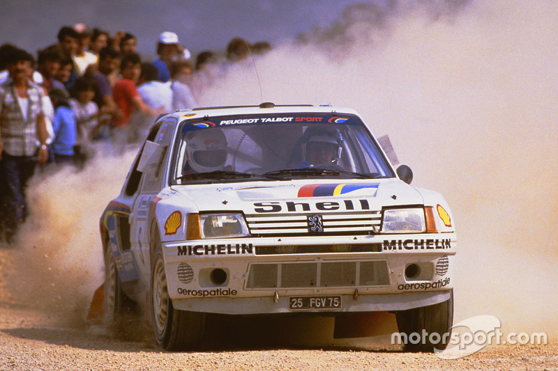 Timo Salonen and Seppo Harjanne, Peugeot 205 T17