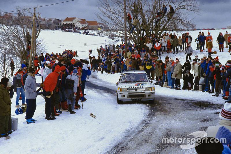 Timo Salonen and Seppo Harjanne, Peugeot 205 T17