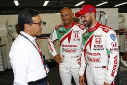 Gabriele Tarquini, Honda Racing Team JAS und Tiago Monteiro, Honda Racing Team JAS