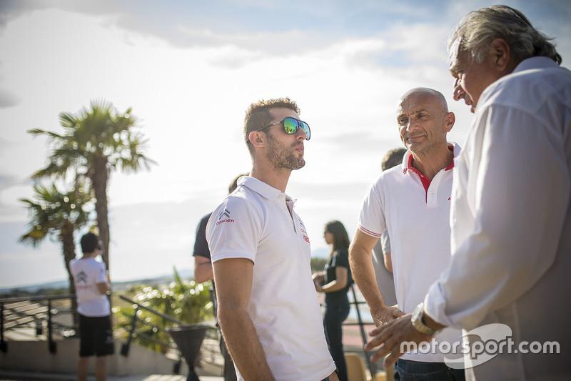 Jose Maria Lopez, Citroën World Touring Car team and Gabriele Tarquini, Honda Racing Team JAS