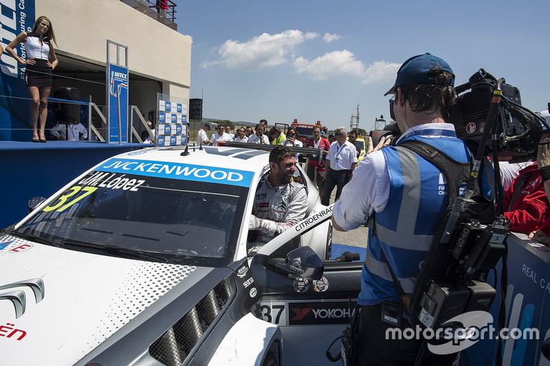 Juara balapan Jose Maria Lopez, Citroën C-Elysee WTCC, Citroën World Touring Car team
