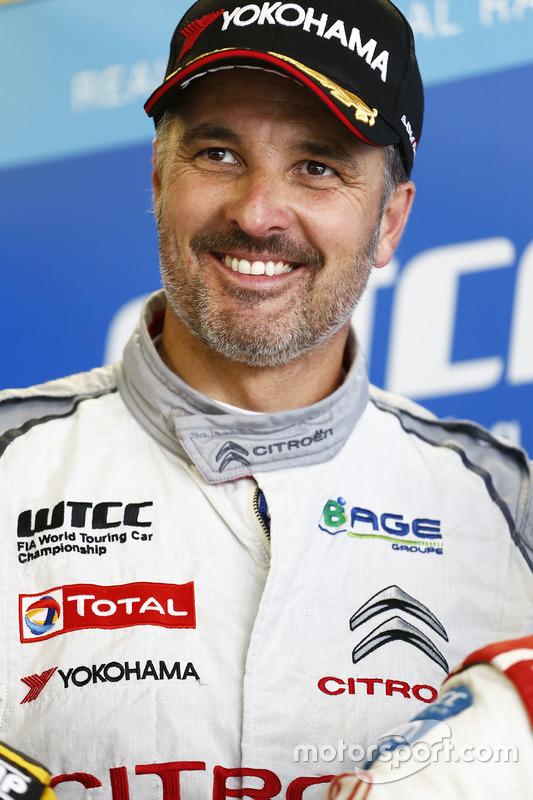 Polesitter Yvan Muller, Citroën C-Elysee WTCC, Citroën World Touring Car team