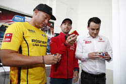 Jose Maria Lopez, Citroën C-Elysee WTCC, Citroën World Touring Car team, Rob Huff, Lada Vesta WTCC, Lada Sport Rosneft, Norbert Michelisz, Honda Civic WTCC, Zengo Motorsport