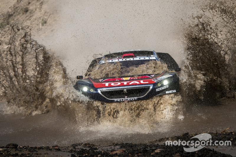 2. #321 Peugeot: Cyril Despres, David Castera