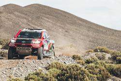 #301 Toyota: Giniel de Villiers, Dirk Von Zitzewitz