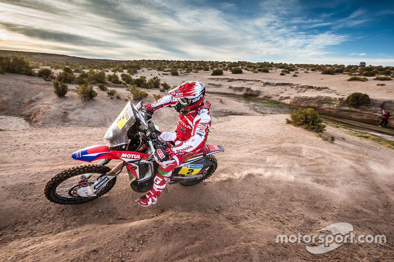1. #2 Honda: Paulo Goncalves