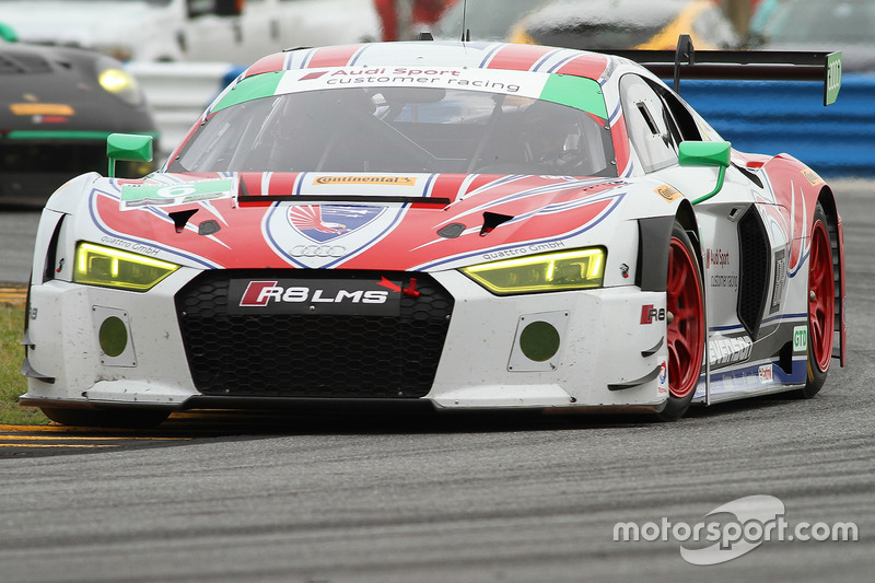 6 Stevenson Motorsports Audi R8 LMS GT3: Andrew Davis, Robin ...