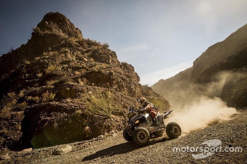 #8: Ein Quad bei der Rallye Dakar