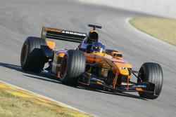 Valencia test, februari 2002