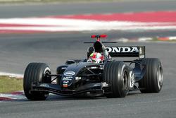 Enrique Bernoldi, BAR Honda