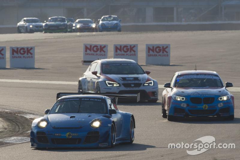 #66 Attempto Racing Porsche 997 GT3 R: Sven Heyrowsky, Arkin Aka, Hans Wehrmann, Jürgen Häring, Edward Lewis Brauner