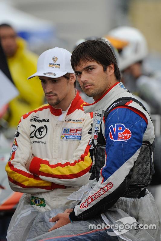 Nelson Piquet Jr. and Henrique Baptista