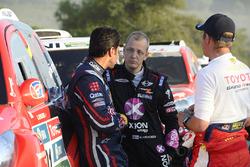 Nasser Al-Attiyah y Mikko Hirvonen, X-Raid Team