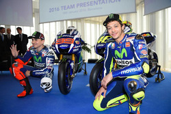 Jorge Lorenzo and Valentino Rossi, Yamaha Factory Racing