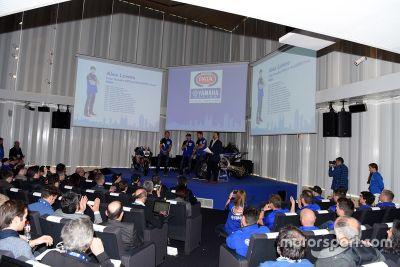 Präsentation Yamaha MotoGP 2016