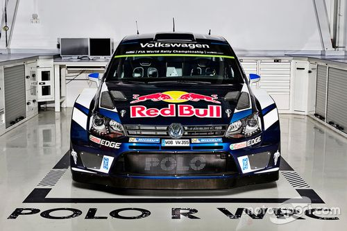 Презентация цветовой схемы Volkswagen Motorsport