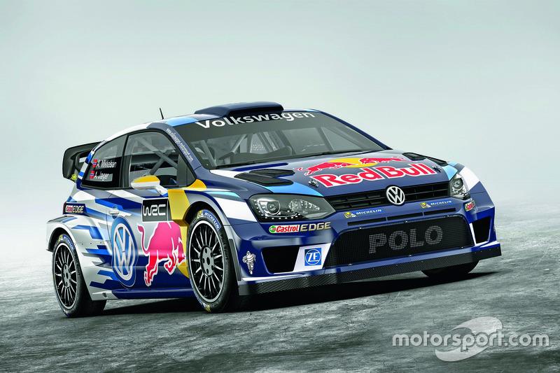 Farbdesign von Andreas Mikkelsen und Anders Jæger, Volkswagen Polo WRC, Volkswagen Motorsport
