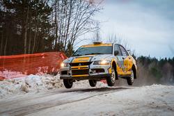 Олег Топоров и Евгений Калачев, Mitsubishi Lancer Evo IX