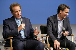 Darrell Waltrip and Jeff Gordon