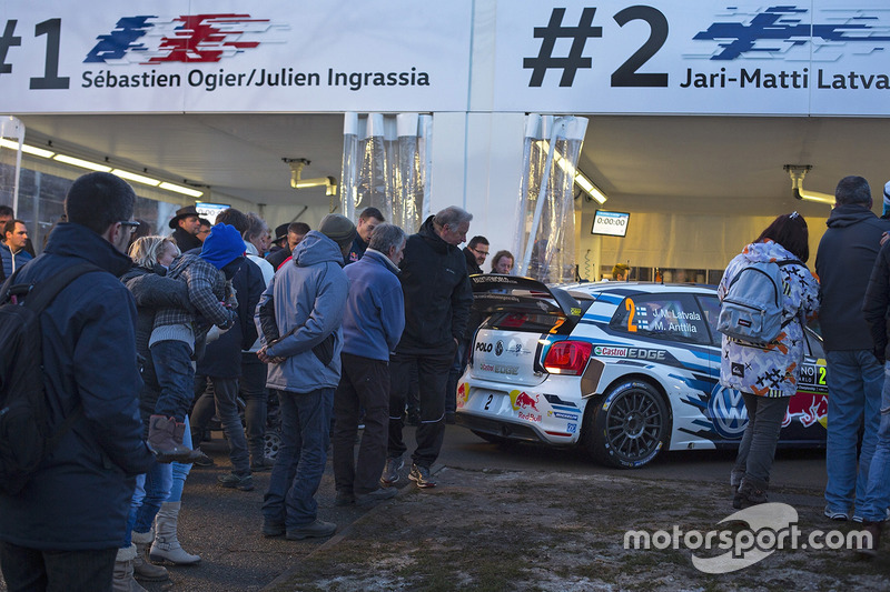 Área del equipo Volkswagen Motorsport